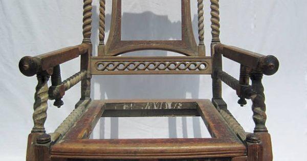 ... Furniture eastlake east lake rocking chair rocker antique vintage