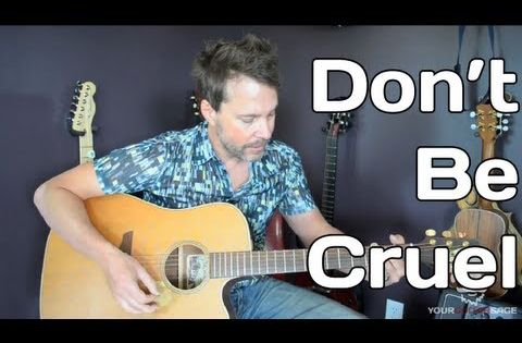 how to play don 39 t be cruel by elvis presley guitar lesson youtube guitar lesson. Black Bedroom Furniture Sets. Home Design Ideas