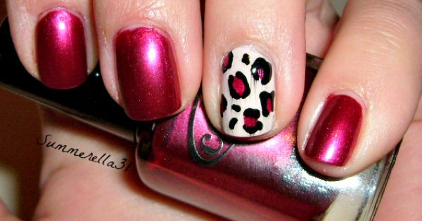 Fall Leopard Print Nails | Summer A.'s (summerella31) Photo | Beautylish