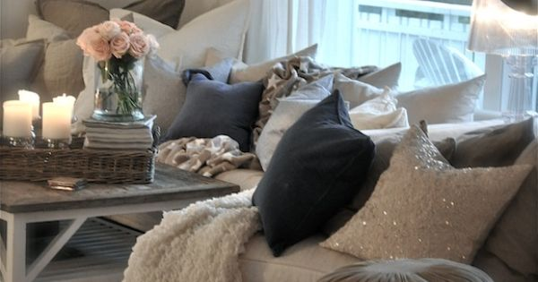 Pillows! Living Room Decorating Ideas on a Budget - Living Room Design