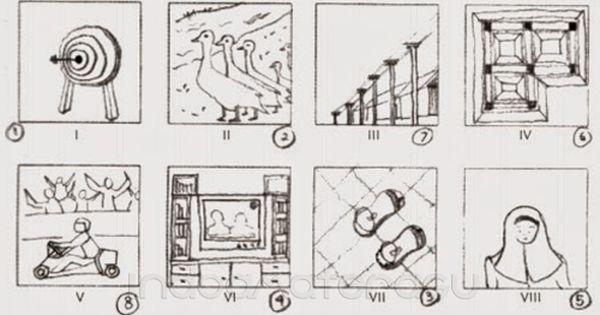 Contoh Mengerjakan Tes Wartegg Gambar 3 Gambar Orang Menggambar Orang Gambar