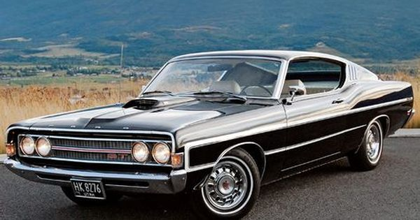 1969 Ford Gran Torino Gt Ford Torino Muscle Cars Vintage