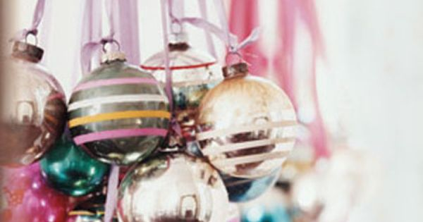 30 Easy, Festive Holiday Decorating Ideas. I really like the holiday balls