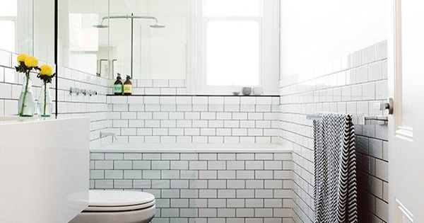 Brilliant  Bathroom Straight Or Staggered Slate Bathroom Bathroom Subway Tiles