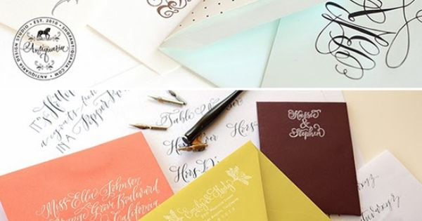 Austin Calligraphy Classes With Antiquaria Stationary