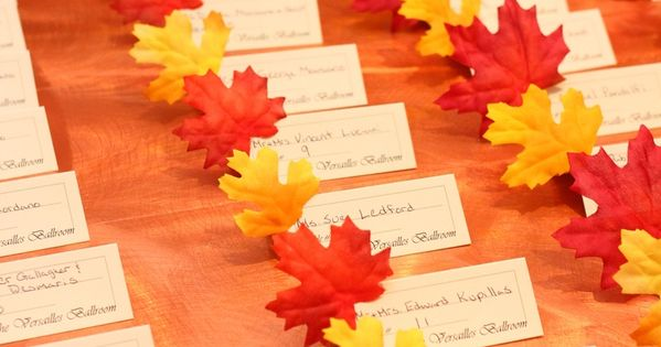 40 gorgeous fall leaves wedding ideas fall leaves Places to have a fall wedding