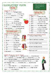 English worksheet: Auxiliary verbs | Verb worksheets ...