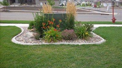 Hide Those Utility Bo Outdoor Landscaping Backyard