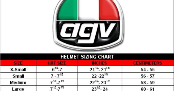 Agv Helmet Size Agv Helmets Hat Sizes Helmet