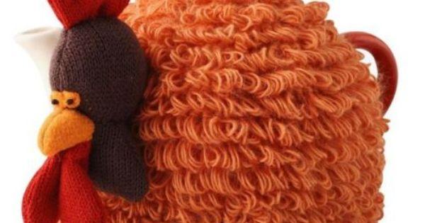 Chicken Tea Cosy Knitting Pattern Free : Fluffy Chicken Tea Cosy All things tea cosies animal - farmyard Pinterest...