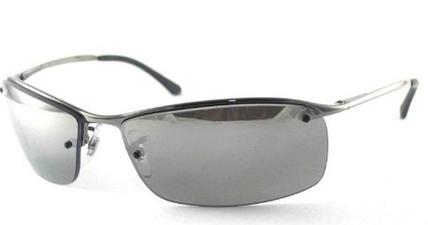 644e611f33 Ray Ban Sunglasses RB3183 Top Bar 004 82 Gunmetal Grey Polarized Mirror  Silver Gradient