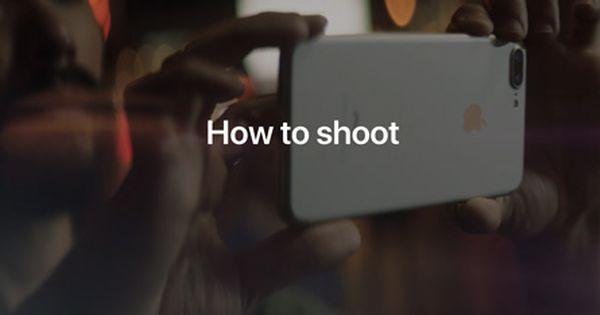 فيديوهات تعليمية من آبل كيفية التصوير الاحترافي باستخدام آيفون 7 Iphone Iphone 7 Incoming Call Screenshot