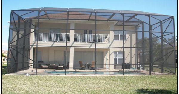Pool Enclosure Houston Tx Builder Of Outdoor Pool Screened Enclosures Screen Enclosures Pool Screen Enclosure Pool Enclosures