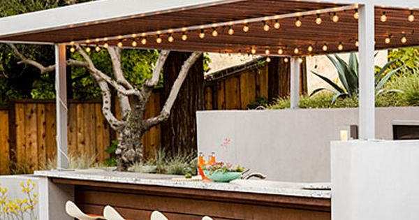 9 ideas for a hillside garden backyard bar bar and backyard. Black Bedroom Furniture Sets. Home Design Ideas