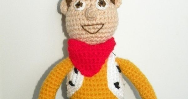 PDF - Woody - 15 inches amigurumi doll crochet pattern ...