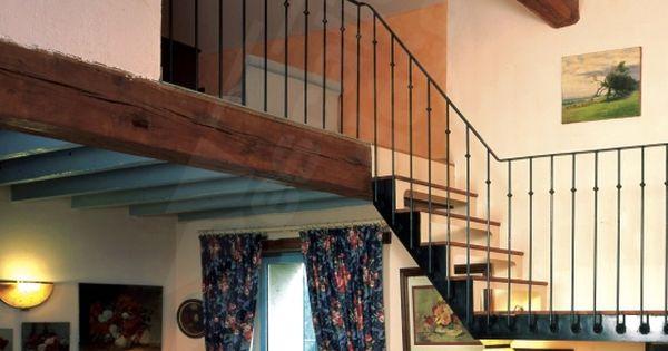escalier m 233 tal et bois de style r 233 tro esca droit 174 bistrot photo dt66 mod 232 le d 233 pos 233 re 224