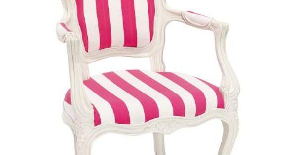 PB Teen Stripe Ooh La La Armchair