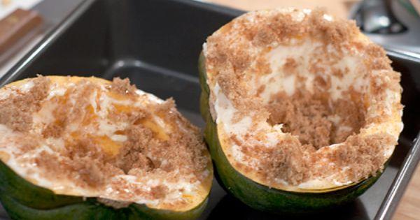 Baked Acorn Squash Recipe Acorn Squash Food Baking