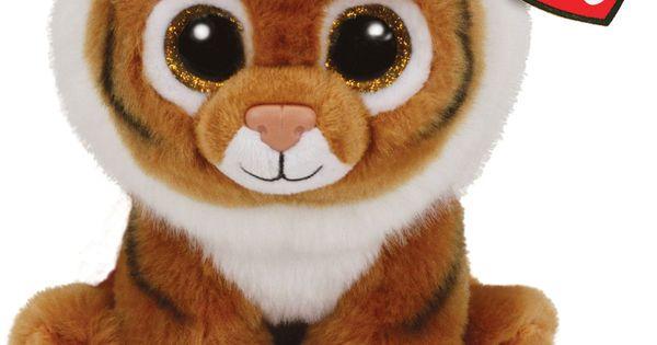 Ty Beanie Baby Tiggs Orange Tiger Ty Beanie And Beanie