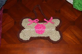 Dog Bone Mat And Purse Crochet Pattern By Sara Sach Crochet Dog Crochet Mat Stuffed Toys Patterns