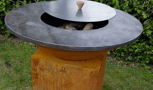 Barbecue Brasero En Acier Corten Brasero Jardins Brazero