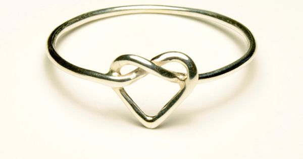 infinity heart ring ~cute promise or anniversary ring!
