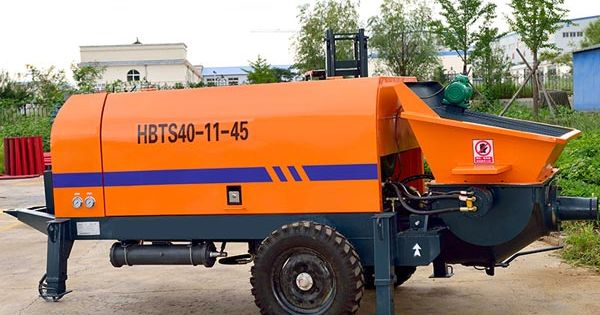 Trailer Concrete Pump Perfect Pumping Machine With Different Engines Pumps Concrete Mixers Hydraulic Systems