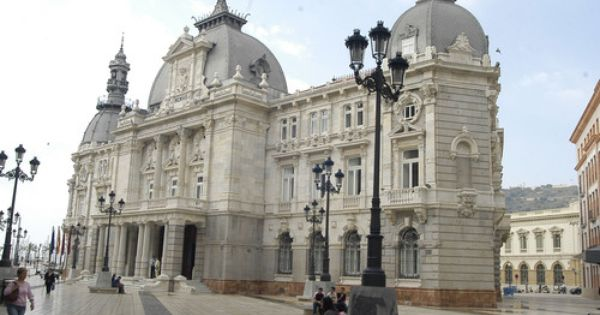 Palacio consistorial cartagena murcia espa a - Oficina de turismo murcia ...