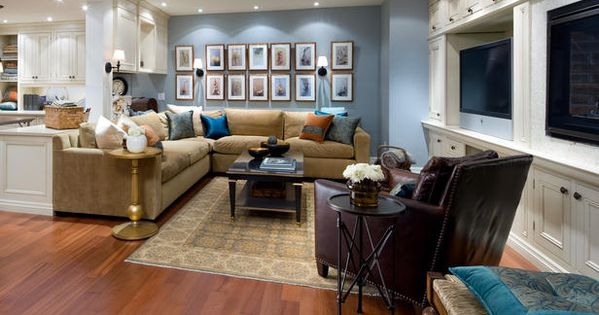 10 Basements Design for Family Room by Candice Olson Pictures