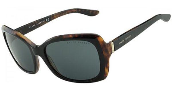 Oculos De Sol Ralph Lauren Acetato Tartaruga E Preto