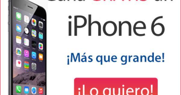 Sorteo De Un Iphone 6 Gratis Sorteos Y Concursos 2018 Iphone 6 Iphone Sorteo