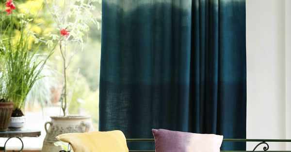 Blue Ombre Window Curtains: Blue Ombre Curtains
