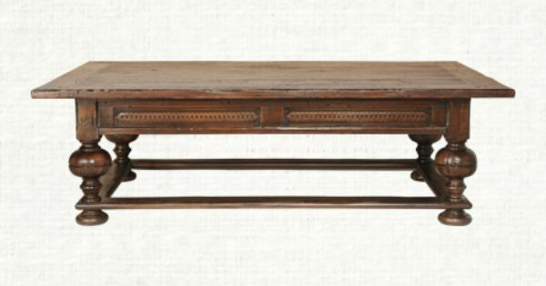 ellington 63 quot rectangle coffee table in oak living room