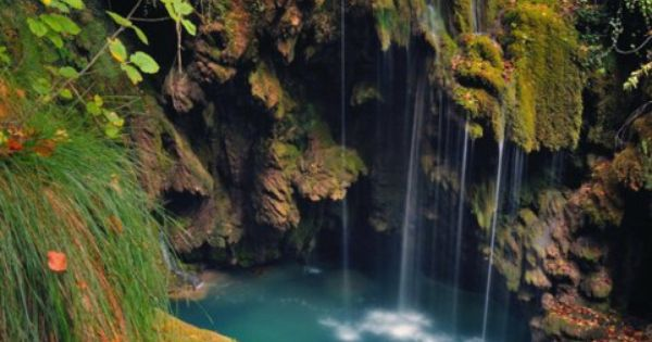 Turquoise Pool, Navarra, Spain. In my dreams!