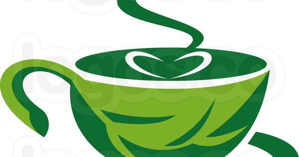 Royalty Free Vector Logo of Green Coffee : LOGO GREEN CAFu00c9 ...