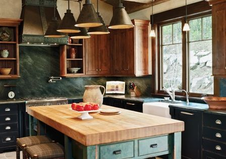 Steamboat Springs Colorado Kitchen By Steamboat Architectural Associates And Jordan Design