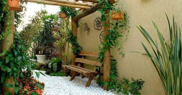 Decora tu jard n con piedras blancas sweet home for Decora tu jardin