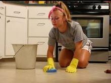 Sealing Ceramic Tiles With A High Gloss Sealer Cleaning Shower Tiles Cleaning Ceramic Tiles Clean Shower Grout