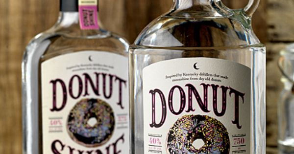 Donut Shine: Kentucky Style Moonshine Made from Day Old Donuts