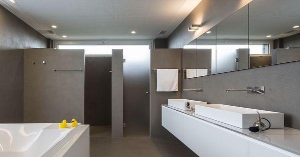 Wand14 Fusion Puristische Wohn Und Arbeitsbereiche Badezimmer Badezimmer Fliesen Arbeitsbereiche