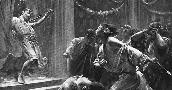 the murder of cleitus Hephaistion: [refuses to let roxane see alexander after the murder of cleitus] roxane: let me pass i am the queen i want to see him i've waited three days.