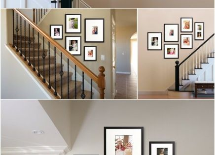 Awesome staircase photo galleries! Where would you put a wall gallery in