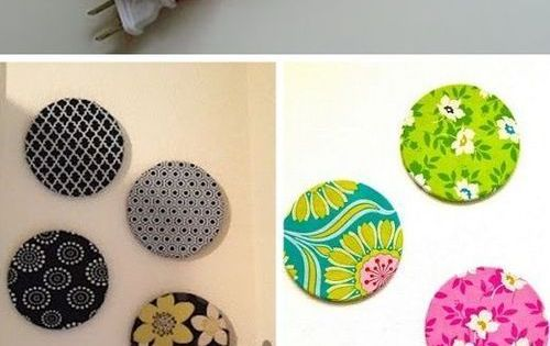 Fabric Covered Circle Bulletin Boards Great Diy Home Decor Idea Diy Homedecor Http Www