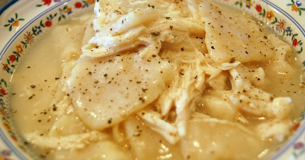 Home Made Chicken N Dumplings | Homemade chicken and dumplings. Or, chicken