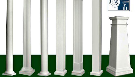 Benefits of using fiberglass porch columns porch columns for Permacast columns