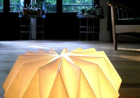 tuto lampe papier diy d co pinterest design abat jour et origami. Black Bedroom Furniture Sets. Home Design Ideas