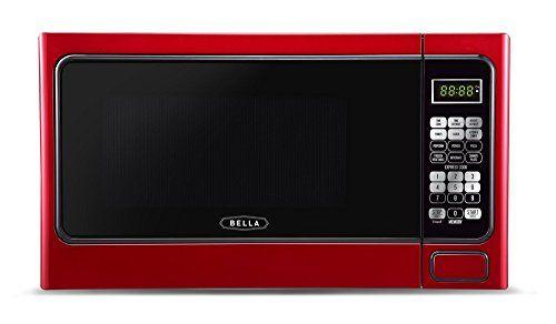 Bella Bmo11abtbkd 1000 Watt Family Sized Digital Microwave 1 1 Cu