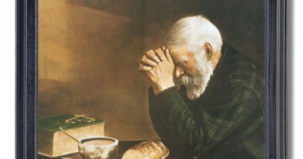 Result for grace and gratitude pictures old man and old woman praying