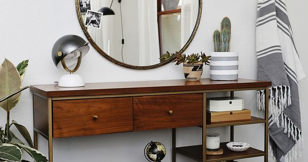 Entryway console dream home pinterest cercles for Console pour vestibule