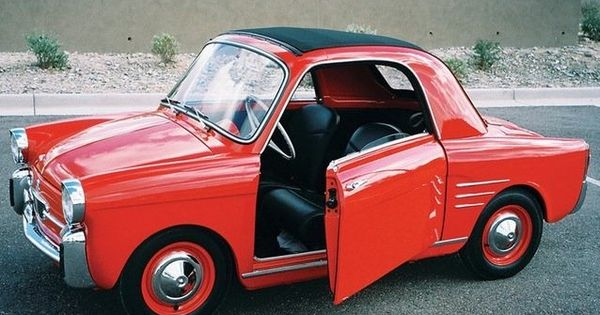 1959 autobianchi bianchina 500 suicide doors no less tiny cars and trucks pinterest. Black Bedroom Furniture Sets. Home Design Ideas
